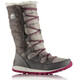 Sorel Whitney Lace Boots Youth Pink Ice/Quarry
